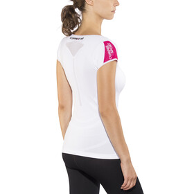 Compressport Trail Running V2 SS Shirt Women White